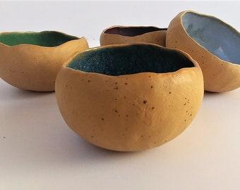Ceramic Bowl, Handmade Organic Bowls, Serving Bowls, Small Ceramic Bowls, Stoneware Dipping Bowls, Handmade Pottery, Gift For Mom