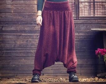 1498a587a8e Harem pants winter