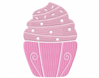 Machine Embroidery Design - Cupcake Collection #08