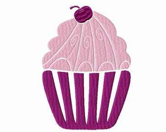 Machine Embroidery Design - Cupcake Collection #03