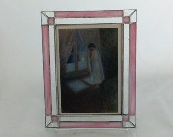 Stained glass frame