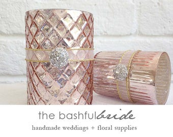 Blush Wedding Decor Etsy