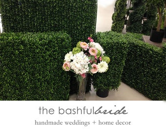 Boxwood wall, Boxwood Hedges, boxwood backdrop, boxwood panels, backdrop wall, backdrop wedding, greenery backdrop, bridal backdrop