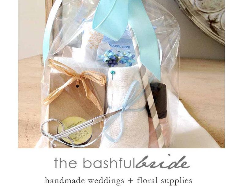19 PC Bridal emergency kit wedding day kit bridal shower image 0