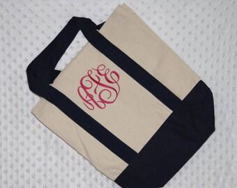 Personalized Monogrammed Tote Bag, Bridesmaid Tote Bag Gift, Bridesmaids Gifts, Wedding Tote Bag, Bridesmaids Bags