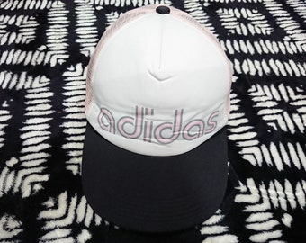 30aa8ec605a Vintage adidas caps spell out size 57-60 cm