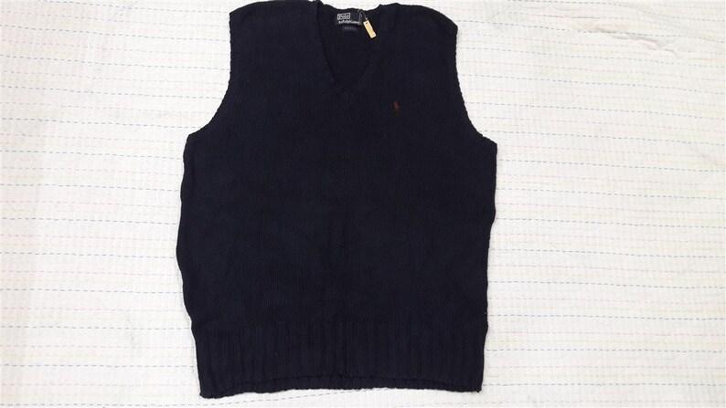3b7c59677daf1 Vintage POLO RALPH LAUREN vest jacket pullover M