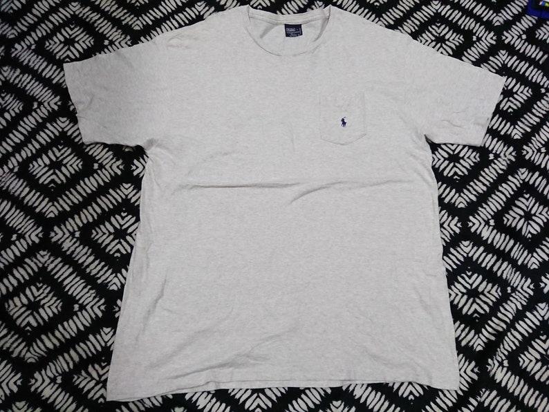 Free Shirt Shipping Small Over Size Ralph Lauren T Pony Vintge Polo Xl Pocket shQxtCrd