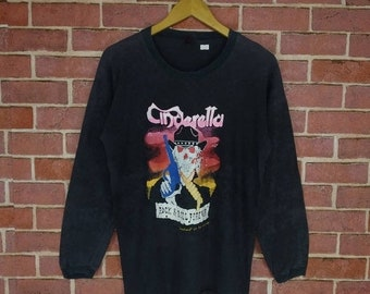 Cinderella Off shoulder top Shirt Tom Keifer Night Songs Rock XS-XL