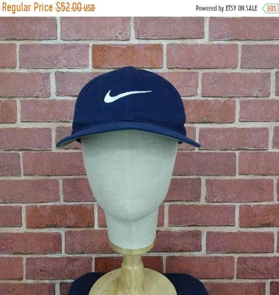 Vintage Nike Big Logo Swoosh Trucker Caps Hats