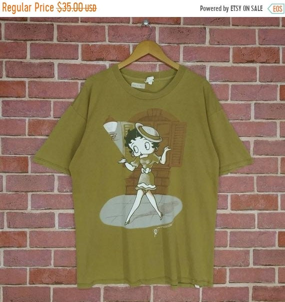 Vintage 90s Betty Boop Animated Cartoon T-shirt