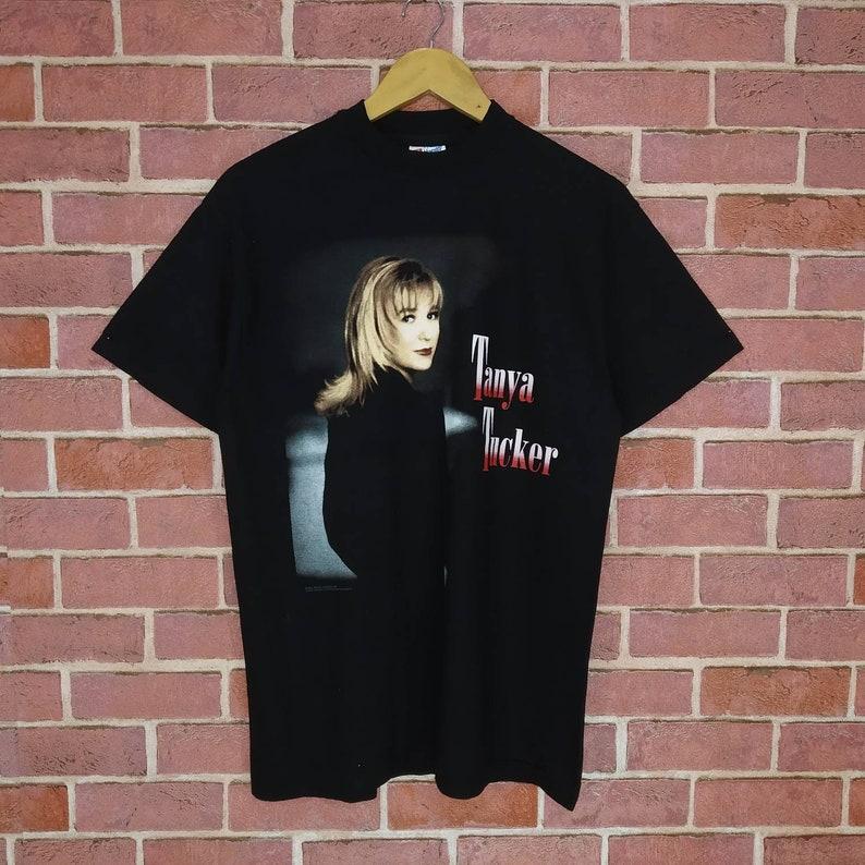 Vintage 90s Tanya Tucker Album Promo Tour Concert Country Music T-shirt medium size