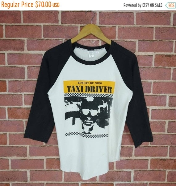 Vintage Taxi Driver Robert Denero Movie T-shirt