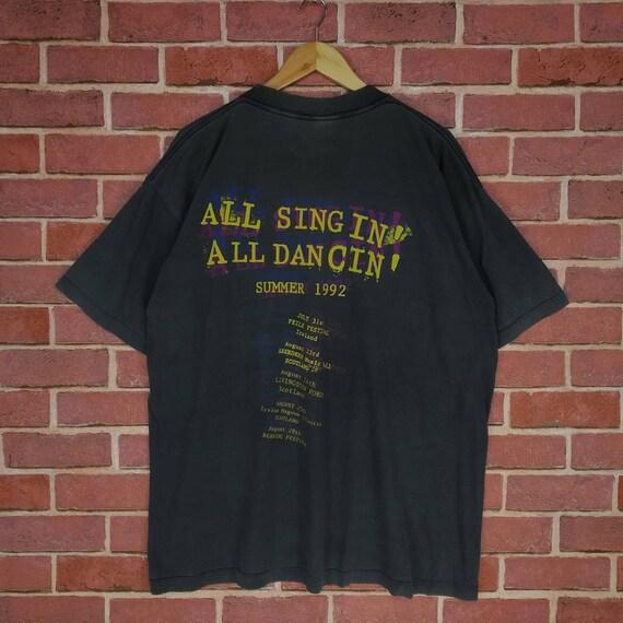 vintage wonder stuff band music 90s longsleeves large mens size