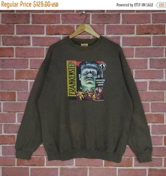 Vintage Frankenstein Horror Film Movie Sweatshirt