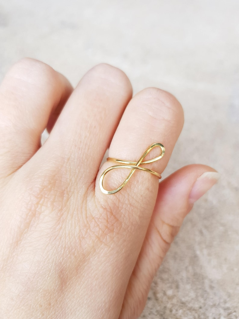 3f3ceb30f8290a Letter F Lowercase Gold Initial Ring, 22Kt Gold Initial F Ring, Personalized  Gold Name Ring, Wedding Bridesmaid Initial Ring Custom letter