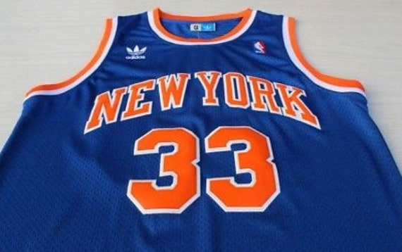 new style 815cc 11442 New York Knicks Throwback Patrick Ewing Jersey
