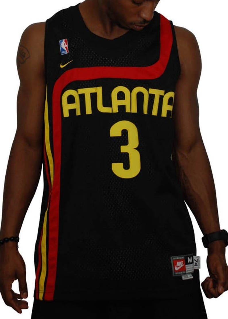 996a2a209cb Nike Atlanta Hawks Shareef Abdur-Rahim Throwback Jersey Medium