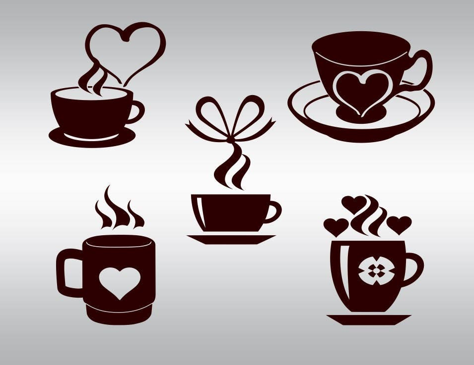 Coffee cup mug clipart lover svg But first coffee svg Love ...