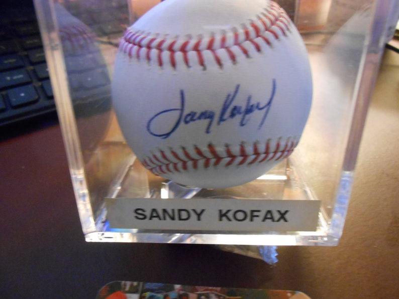 a81909c90 SANDY KOUFAX SIGNED los angeles dodgers baseball global