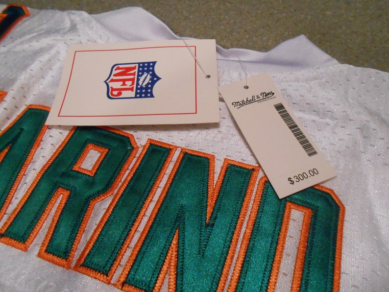 online store 14b95 6a7ba DAN MARINO SIGNED miami dolphins mitchell&ness jersey/mounted memories  sticker only