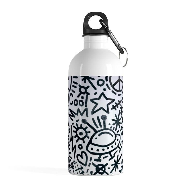 e022534fbf8 Stainless Steel Water Bottle | Etsy