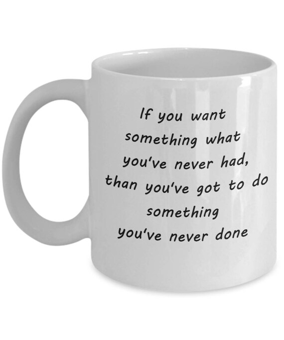 Coffee Mug With Funny Quotes Coffee Mugs With Positive Etsy