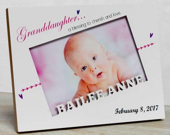 8aaed9111def Personalized Baby Picture Frame