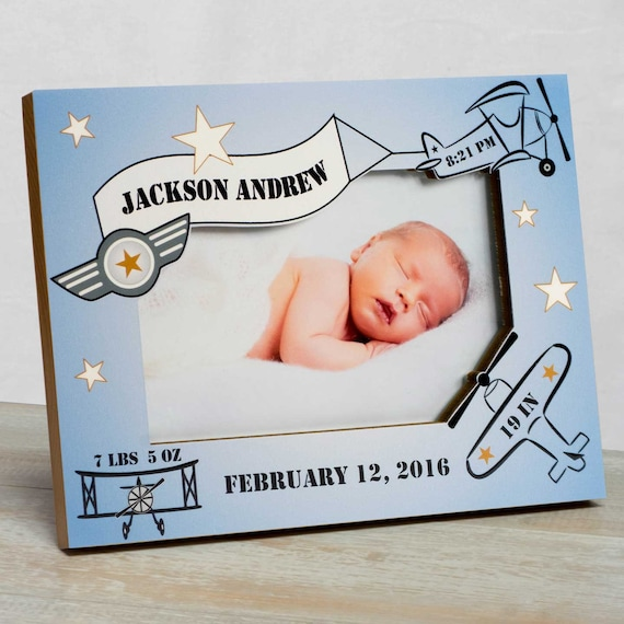 Personalized Baby Picture Frame Baby Frame For Boys Baby Boy   Etsy