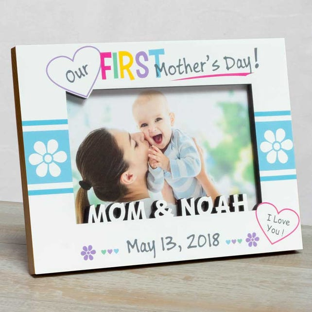 Mother\'s Day Picture Frame Happy Mother\'s Day | Etsy