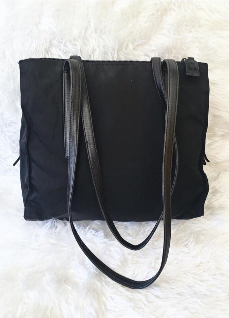 aadcbd5a9282 Best Deal Authentic Vintage PRADA Vela Tessuto Black Nylon