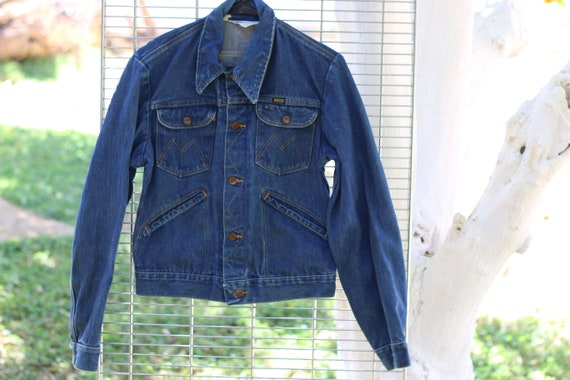 Vintage 1970's Maverick Denim Trucker Jacket
