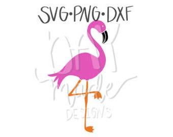 Flamingo SVG, Flamingo cut file
