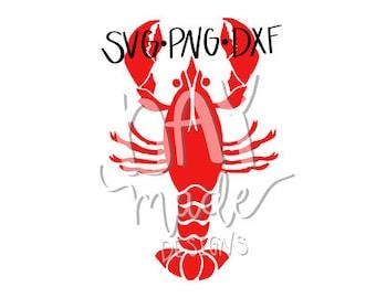 Crawfish SVG (Crayfish), Crawfish cut file