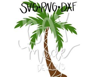Palm Tree SVG, Palm Tree Cut File