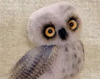 Sold. Buddy little owl. Toy, little Owl, Stuffed Animals & Plushies , collectible toy, plush owl, plush toy, teddy owl