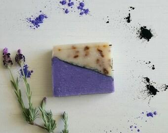 Lavender Soap, Coconut Milk Soap, Handmade Soap, Cold Process Soap