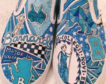 Barnard College Custom Sneakers