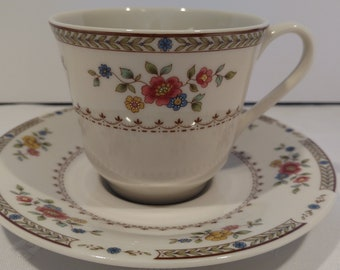 Royal Doulton Kingswood Tea Cup and Saucer T.C. 1115