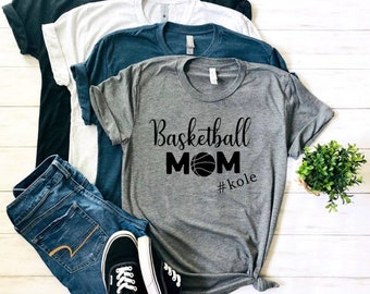 d8d55c53c basketball mom shirt - basketball mom t-shirt - basketball shirts - mom  sports shirt - customized basketball mom shirt - personalized