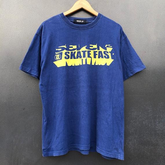 Vintage Seven Skatefast, Skateboarding,Skater , Xt