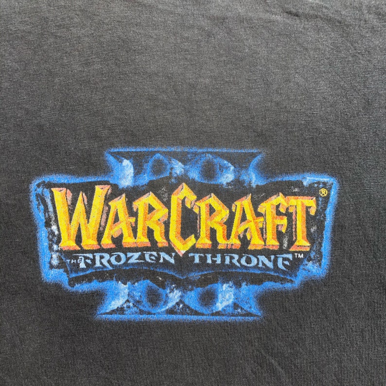 PC Games Vintage Warcraft II The Frozen Throne Microsoft Blizzard Entertainment