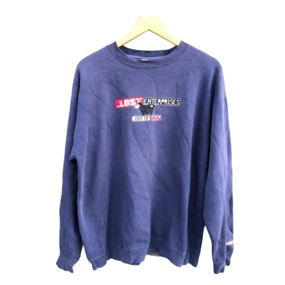 RARE ! Vintage 90s Lost Enterprise Collaboration w