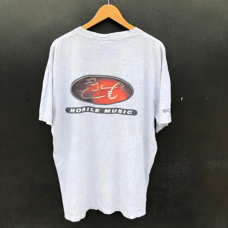Sony Erison Sony Walkman Vintage 90s Sony Mobile Music T Shirt Promo