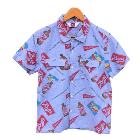 Vintage Fullprint Ben Davis Shirt Logo , Streetwea