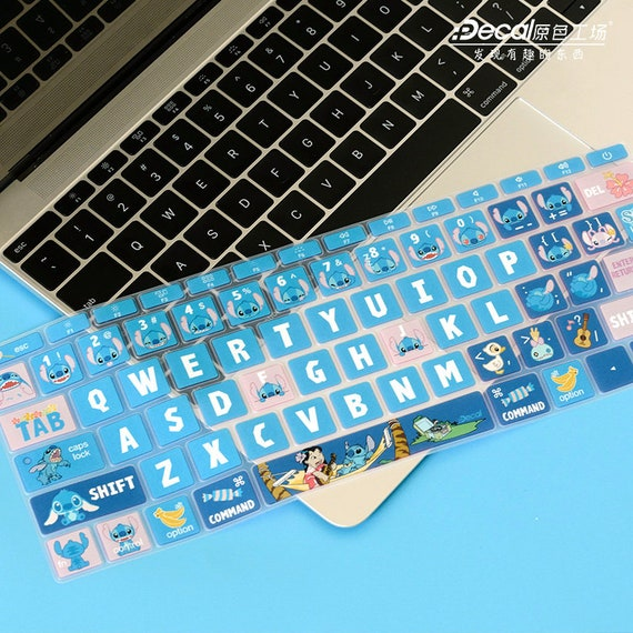 Baby Lilo And Stitch Laptop Macbook Vinyl Decal Sticker