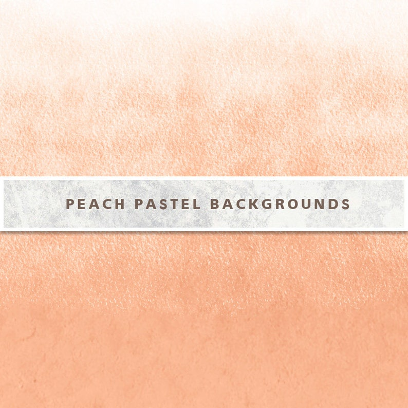 4a10e6fada45 Peach Pastel Background Pattern Peach Watercolor Digital