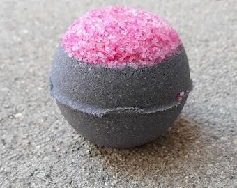 Epsom salt bath bomb