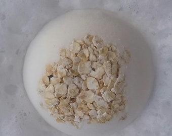 Oatmeal bath bomb fragrance and color free