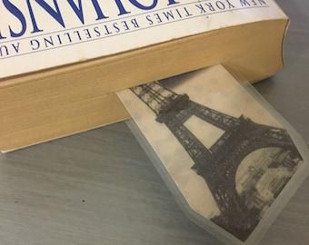 Worldly paper bookmarks set